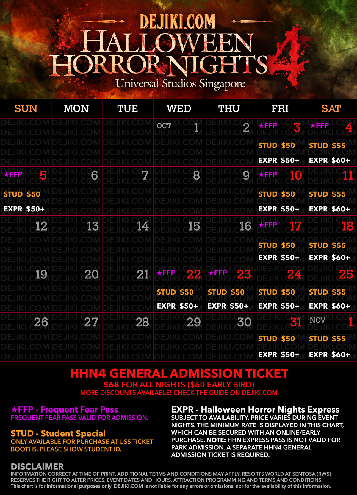 Guide: Halloween attractions and events in Singapore 2014 ...