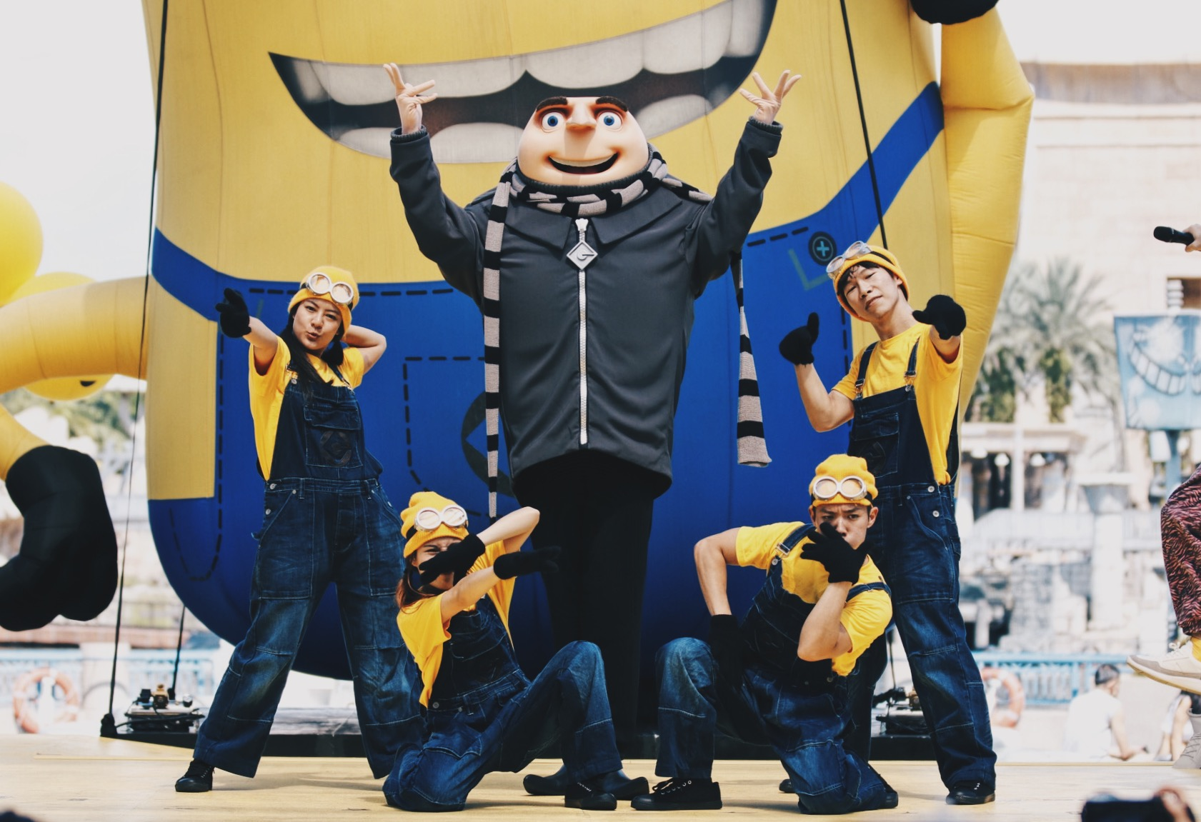 Despicable Me Breakout Party - Gru Meet and Greet at the event