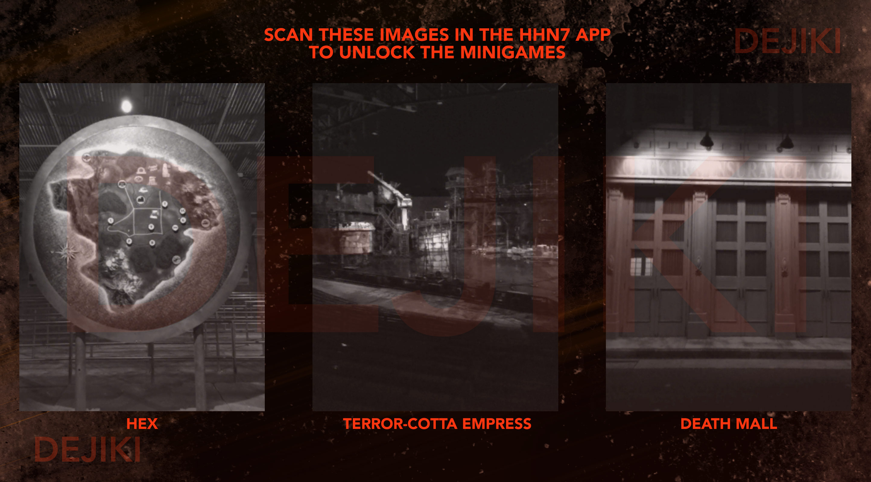 Halloween Horror Nights 7 Survival Guide Tips & Tricks - Cheat method to easily unlock all 3 minigames in the HHN7 App