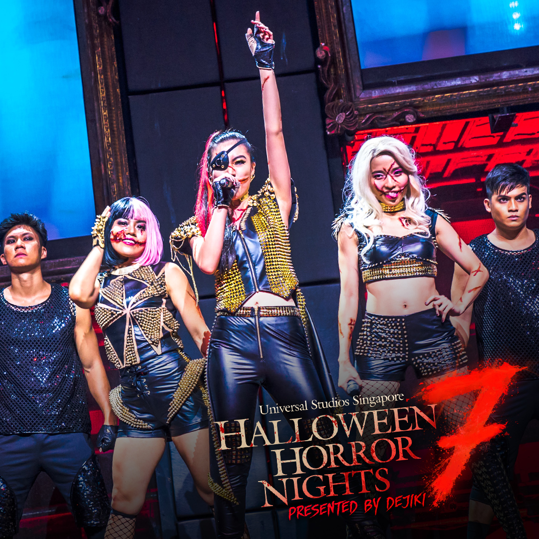 Halloween Horror Nights 7 Music Soundtrack - Slit Face Girls SLICE OF LIFE album cover art