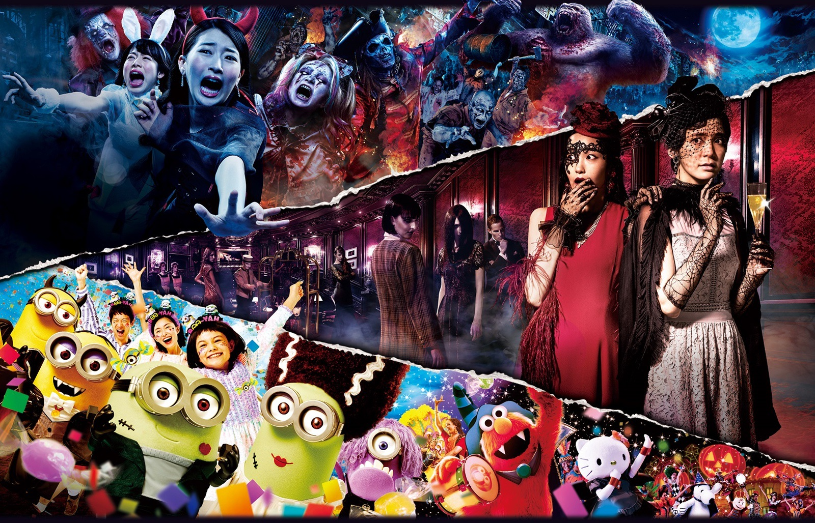 Universal Studios Japan Halloween 2018 Lineup Revealed - New Era of Halloween