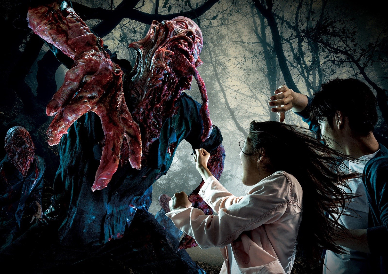 Universal Studios Japan Halloween 2018 Lineup Revealed – Halloween Horror Nights - The Survival - Deadman's Forest 2 Outdoor Horror Maze