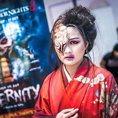 Lady Oiwa at USS HHN8 Roadshow