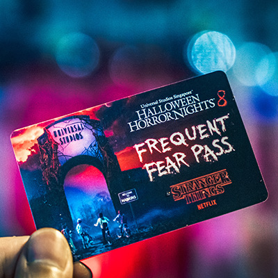 HHN8 Halloween Horror Nights 8 Stranger Things Frequent Fear Pass