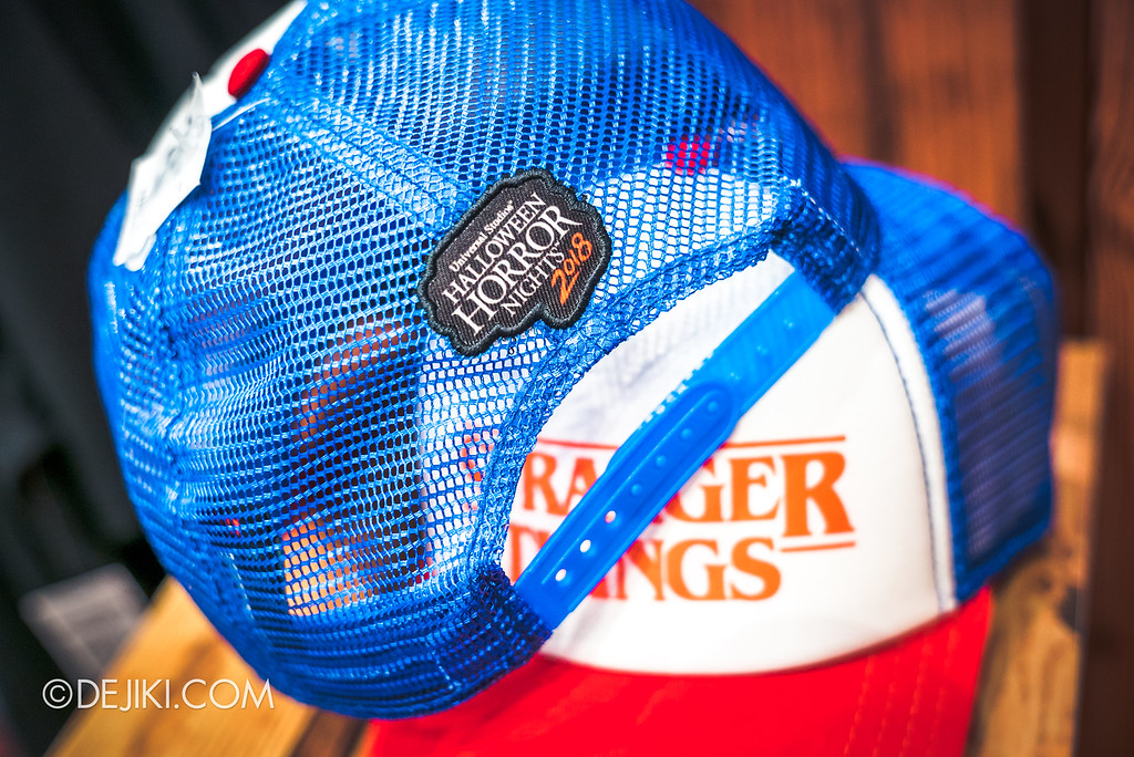 USS Halloween Horror Nights 8 Stranger Things Singapore merchandise Dustin trucker cap