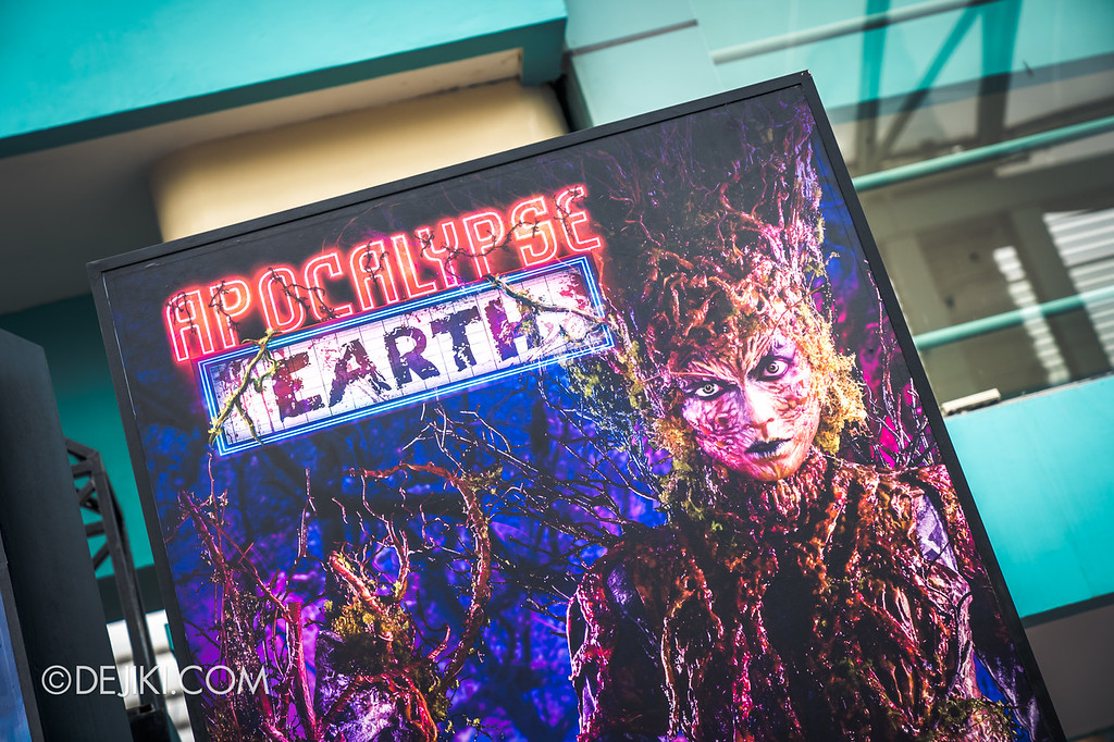 Universal Studios Singapore Halloween Horror Nights 8 - Apocalypse Earth icon Gaia