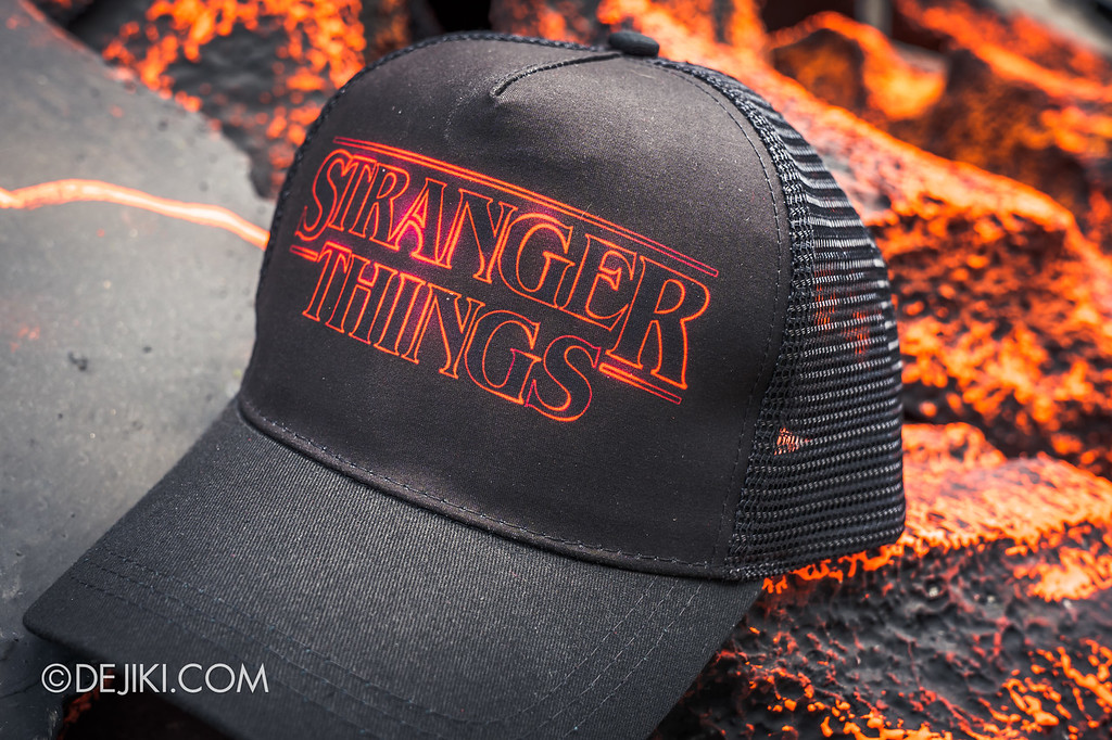 Universal Studios Singapore Halloween Horror Nights 8 / Limited Time Sale exclusive Stranger Things cap