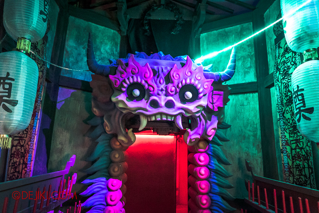 Universal Studios Singapore Halloween Horror Nights 8 - Pagoda of Peril haunted house Demon Gate