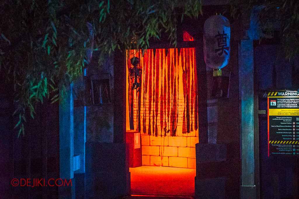 Universal Studios Singapore Halloween Horror Nights 8 - Pagoda of Peril haunted house