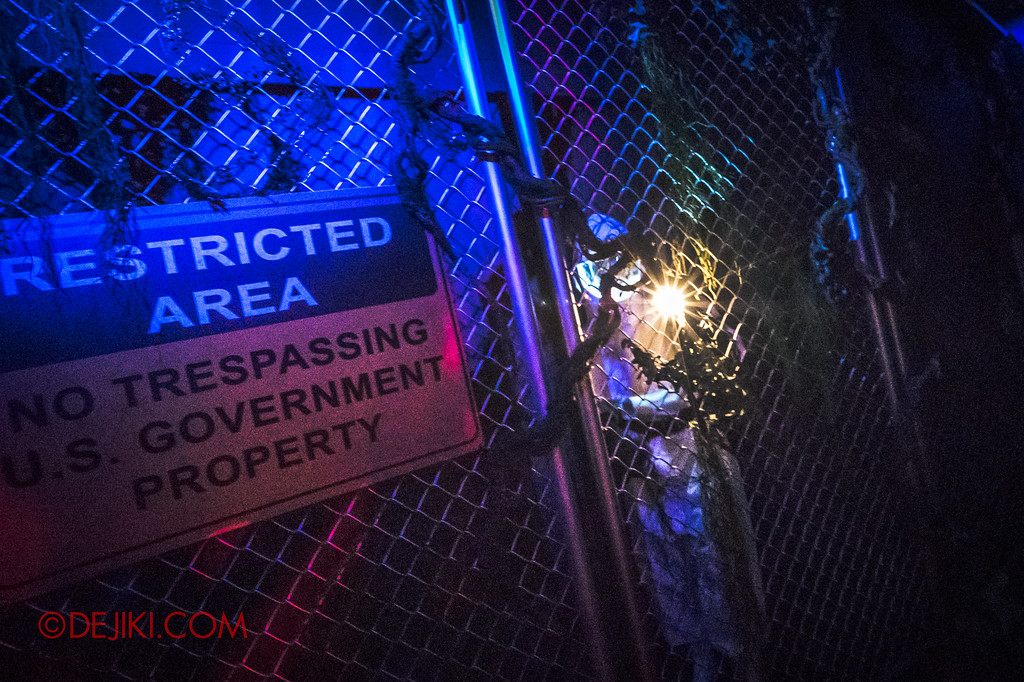 Universal Studios Singapore Halloween Horror Nights 8 - STRANGER THINGS haunted house Hawkins Lab exterior