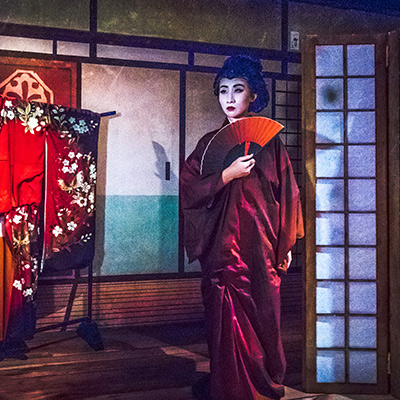 Universal Studios Singapore Halloween Horror Nights 8 - The Haunting of Oiwa haunted house Lady Oiwa Grand