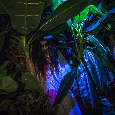 Universal Studios Singapore Halloween Horror Nights 8 - Pontianak haunted house banana trees