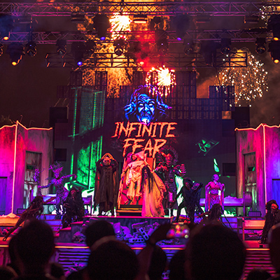 Universal Studios Singapore Halloween Horror Nights 8 - Infinite Fear Opening Scaremony