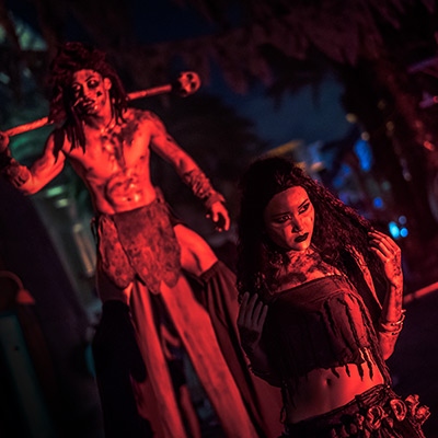 USS Singapore Halloween Horror Nights 8 Cannibal scare zone cover photo