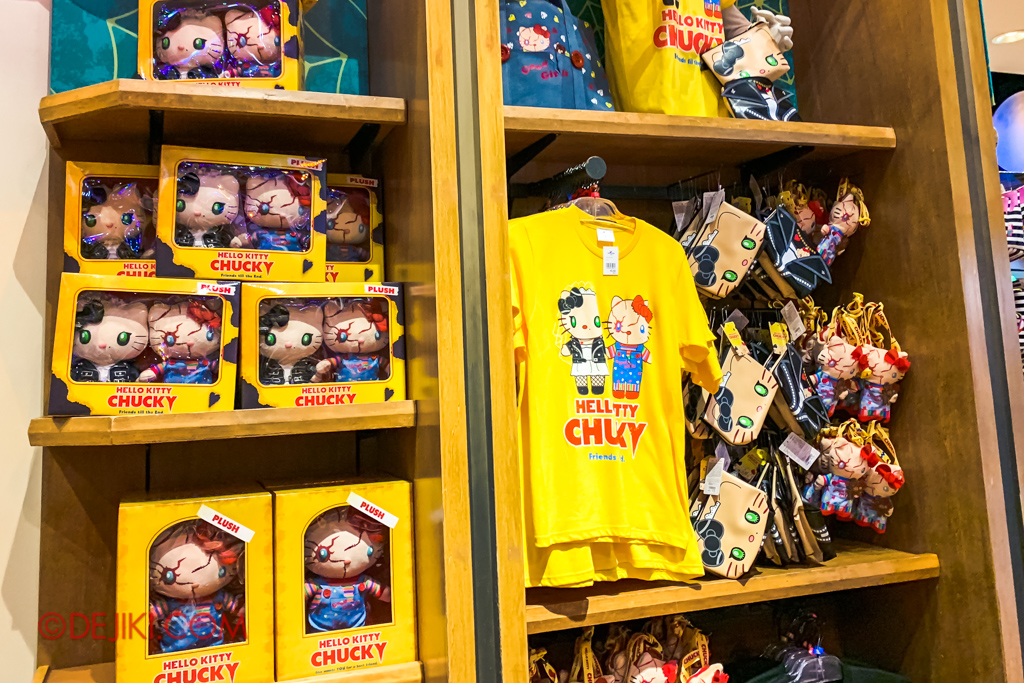 Universal Studios Japan Surprise Halloween Horror Nights 2018 - Hello Kitty CHUCKY merchandise