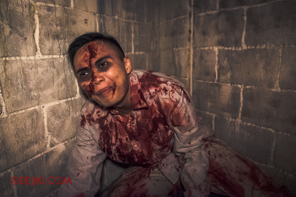 Universal Studios Singapore Halloween Horror Nights 8 Killuminati haunted house 6 the hideout victims