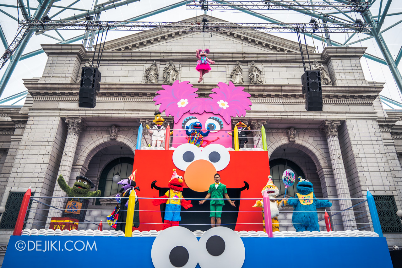 Universal Studios Singapore - Sesame Street 50 Years and Counting Celebration - Blowout Party finale