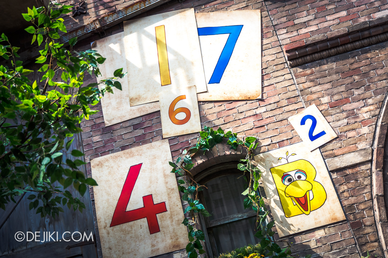 Universal Studios Singapore - Sesame Street 50 Years and Counting Celebration big bird nest