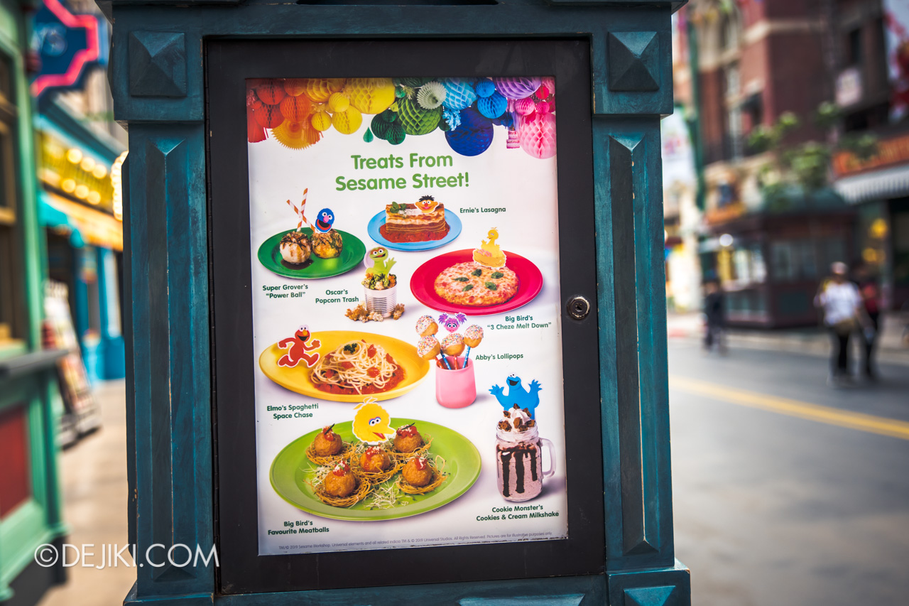 Universal Studios Singapore - Sesame Street 50 Years and Counting Celebration new york louis treats