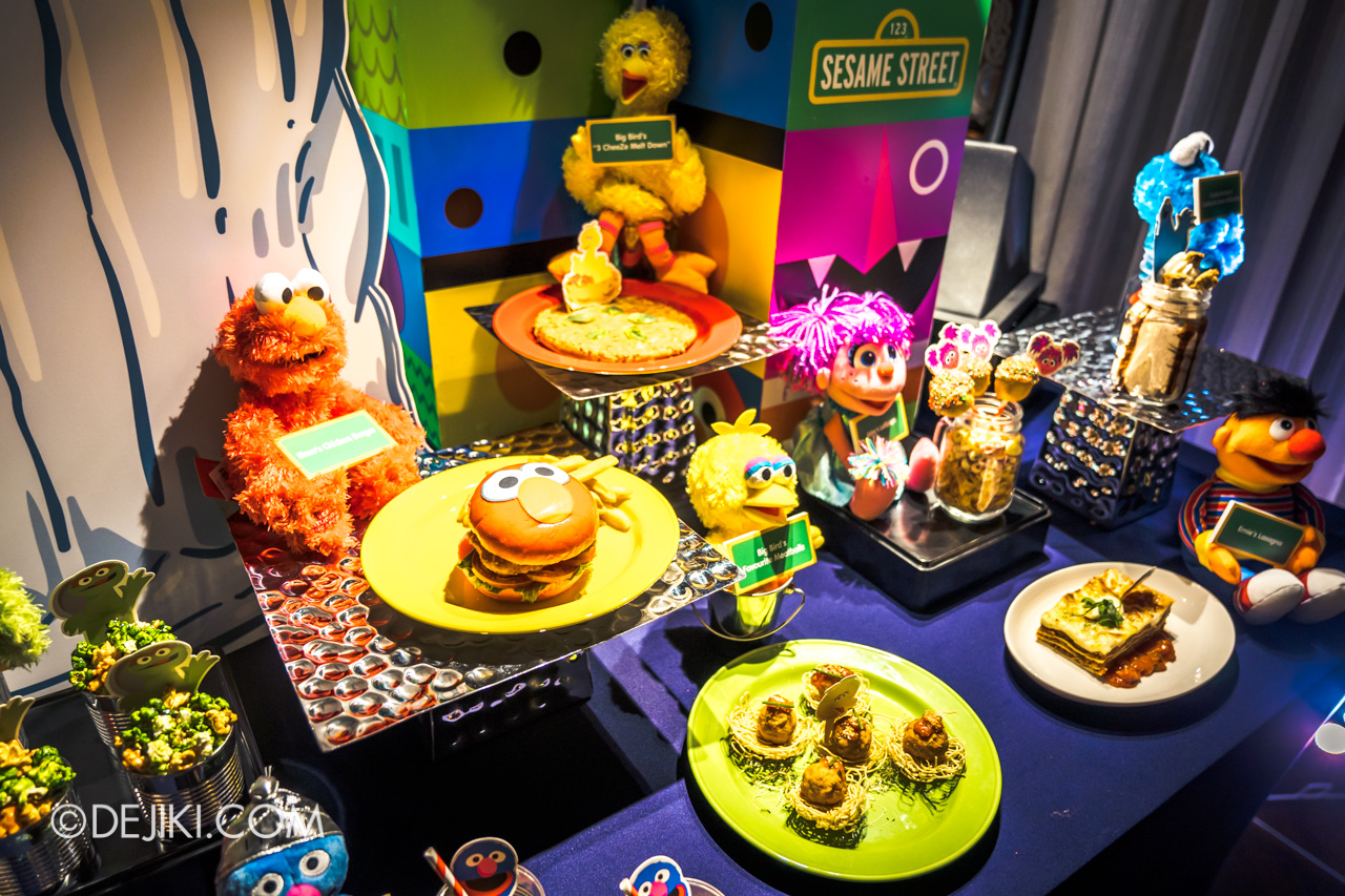 Universal Studios Singapore - Sesame Street 50 Years and Counting Celebration - themed food