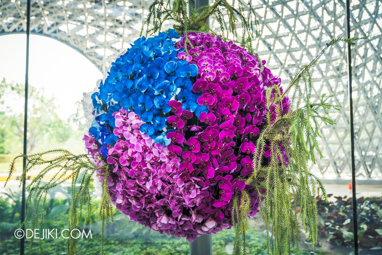 Gardens by the Bay Singapore Floral Fantasy Float landscape multicolor ball