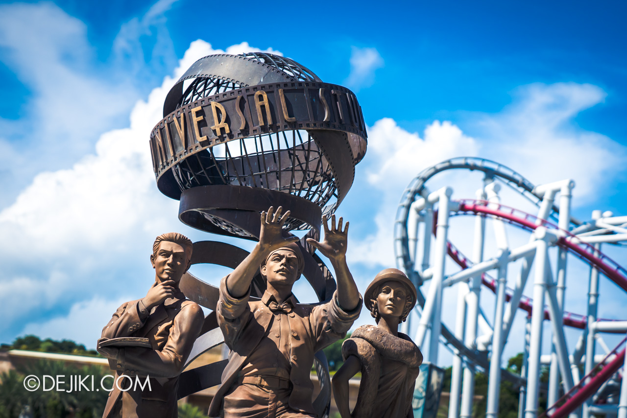 Universal Studios Singapore Fountain