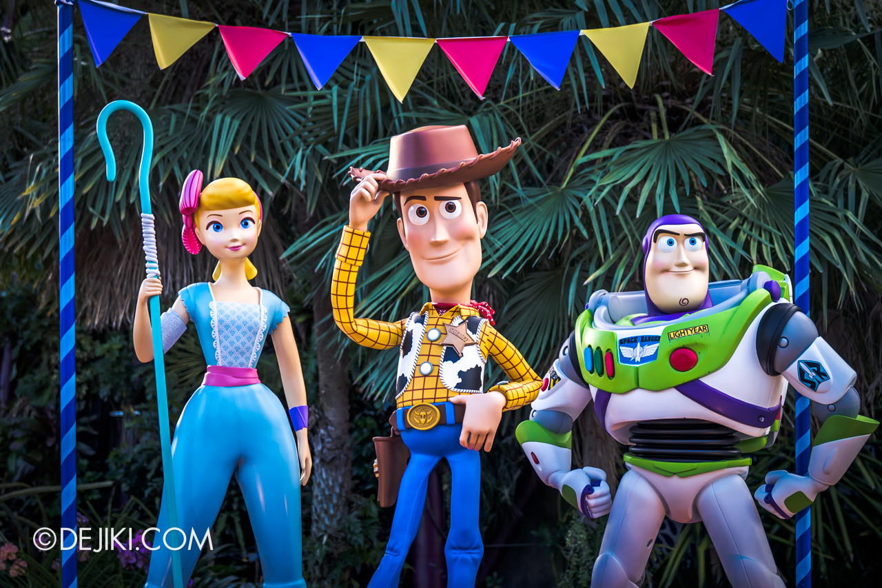 Gardens by the Bay - Disney Toy Story 4 Children's Festival 2019 - Bo Beep Sheriff Woody Buzz Lightyear