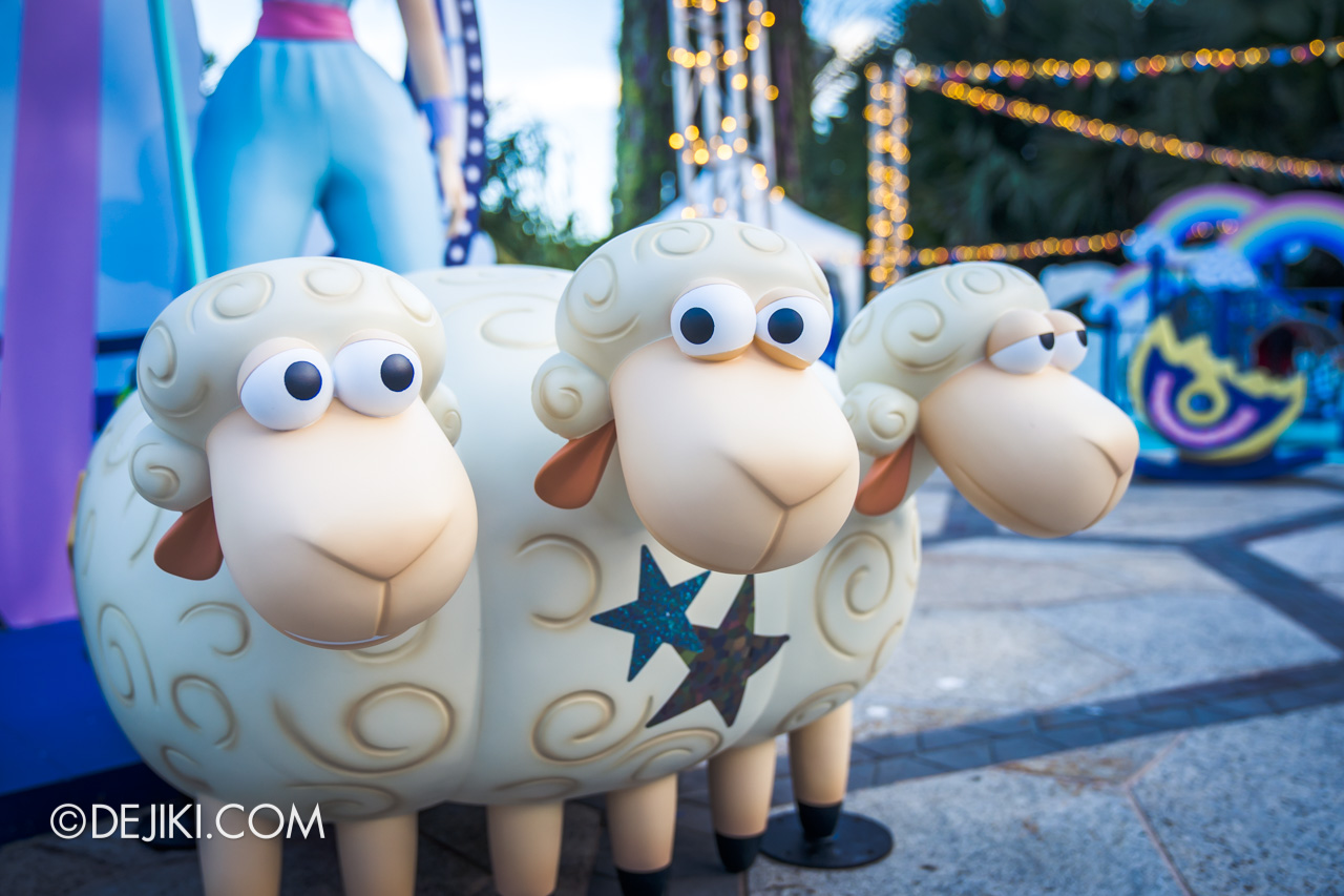 Gardens by the Bay - Disney Toy Story 4 Children's Festival 2019 - Bo Beep's Adventure sheep