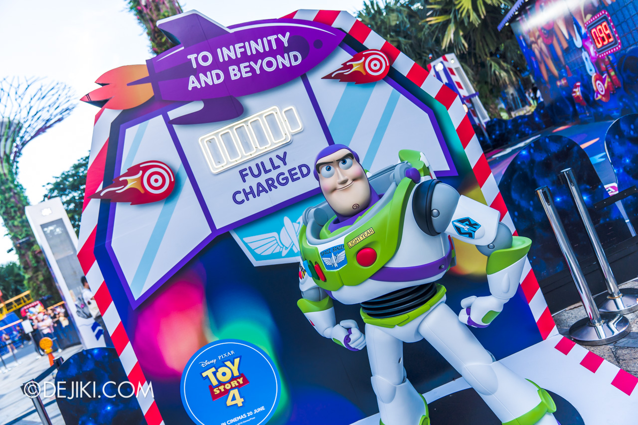 Gardens by the Bay - Disney Toy Story 4 Children's Festival 2019 - Buzz Lightyear Star Adventurer photo op