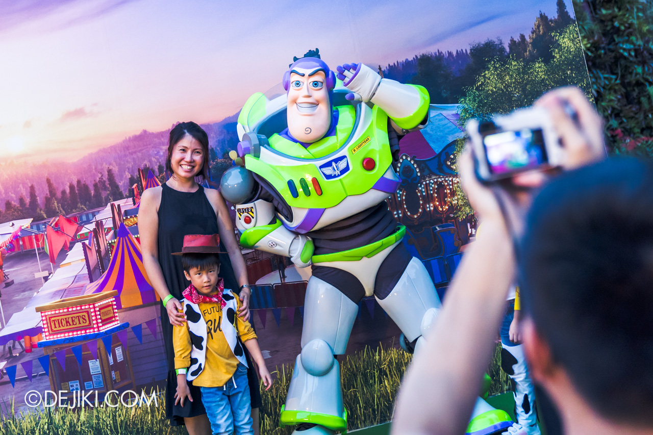 Gardens by the Bay - Disney Toy Story 4 Children's Festival 2019 - Meet and Greet with Buzz Lightyear