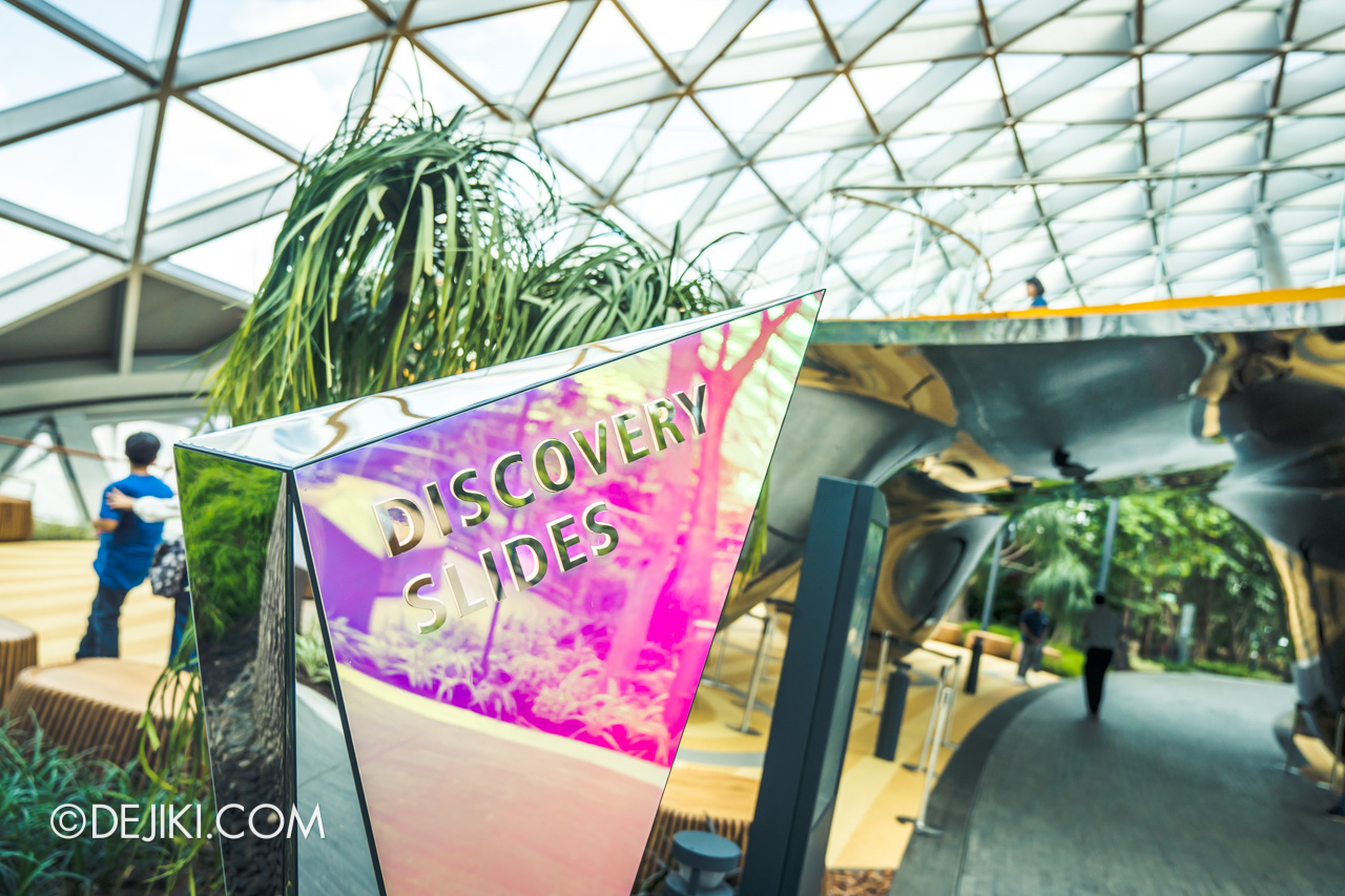 Jewel Changi Airport - Canopy Park 2 - Discovery Slides entrance