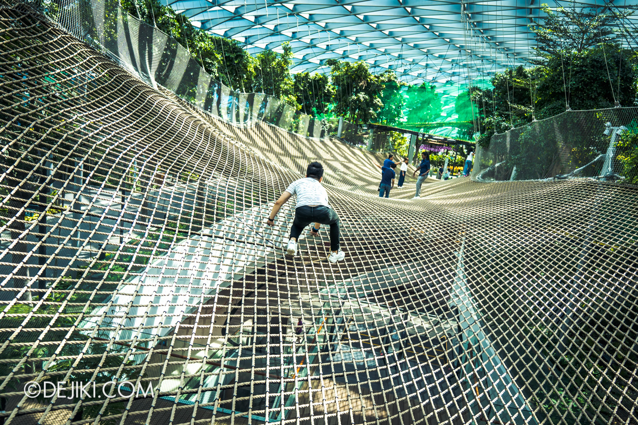 Jewel Changi Airport - Canopy Park 5 - Manulife Sky Nets Walking 2