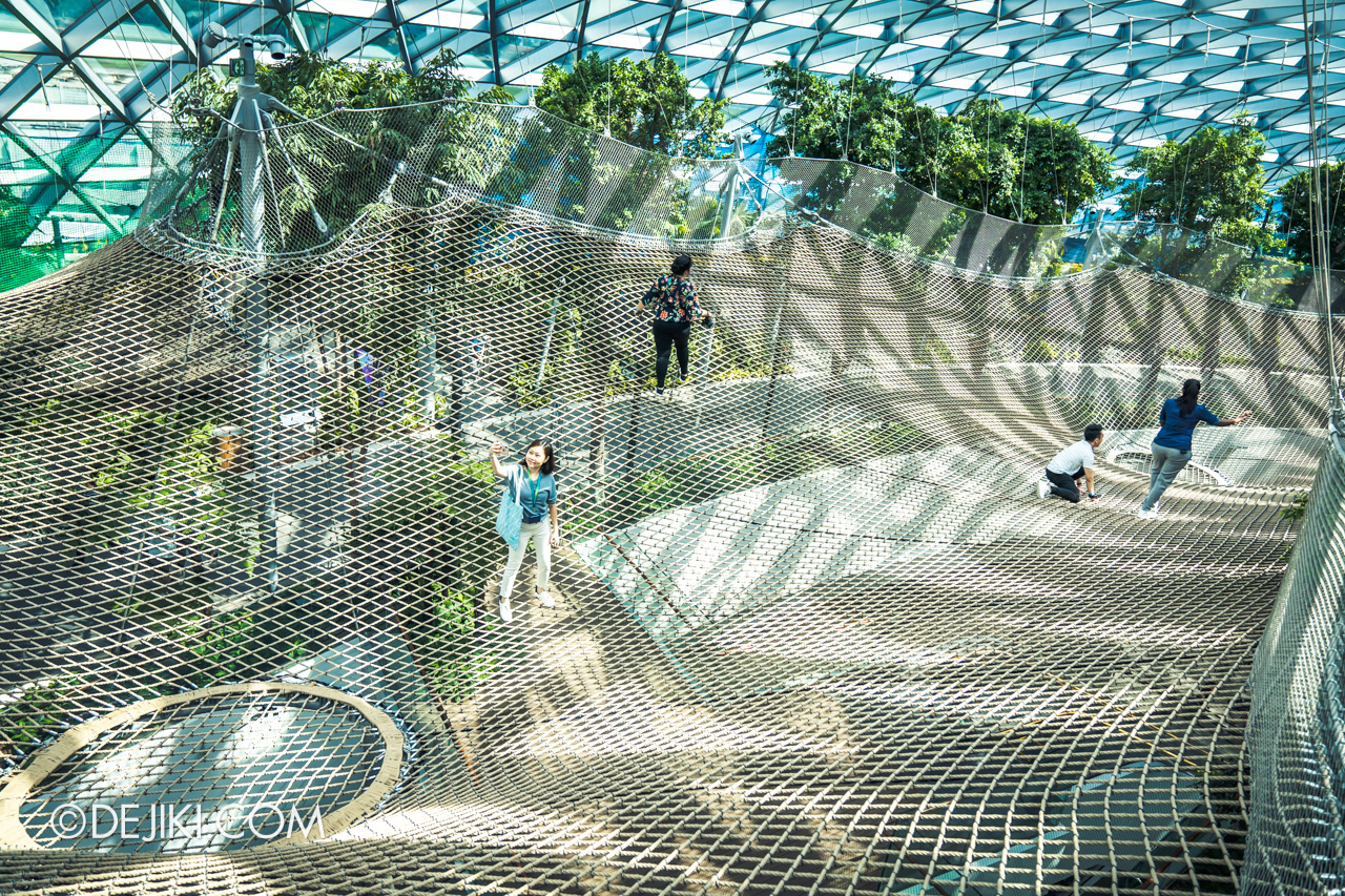 Jewel Changi Airport - Canopy Park 5 - Manulife Sky Nets Walking 3 top