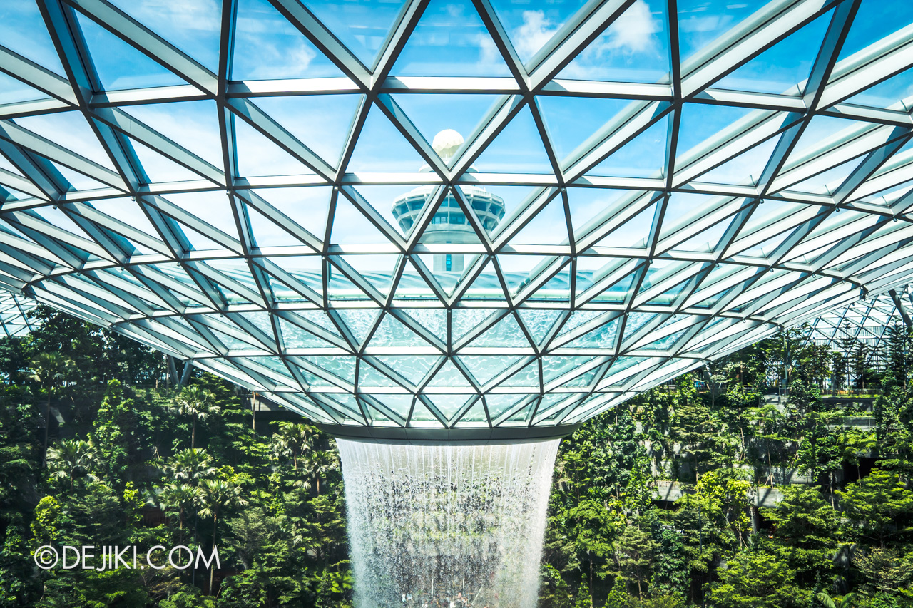 Jewel Changi Airport - Canopy Park 8 Canopy Bridge - overview 3 center