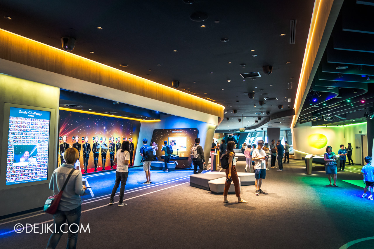 Jewel Changi Airport - Changi Experience Studio 7 - Arena overview
