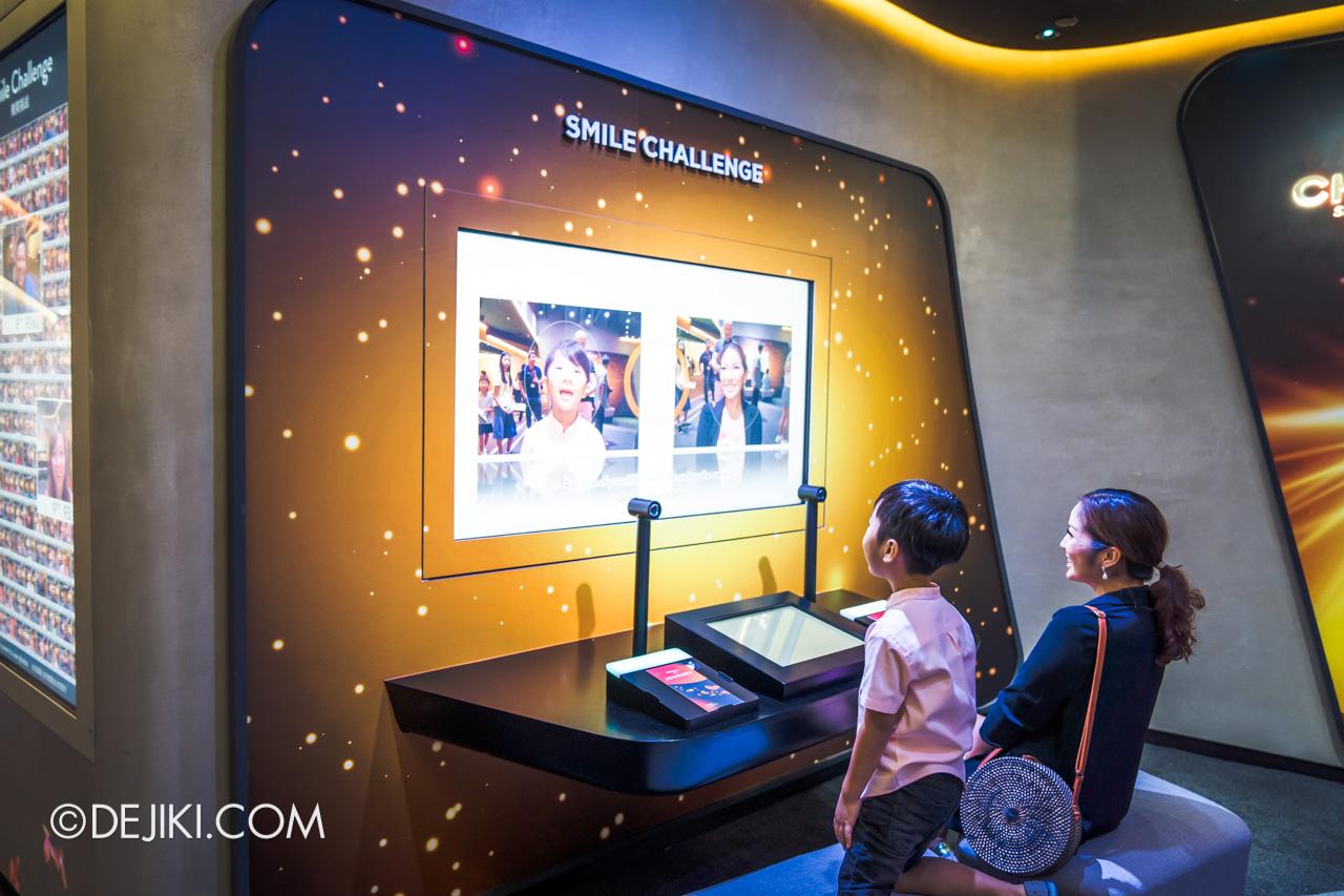 Jewel Changi Airport - Changi Experience Studio 7 - Arena smile challenge 2