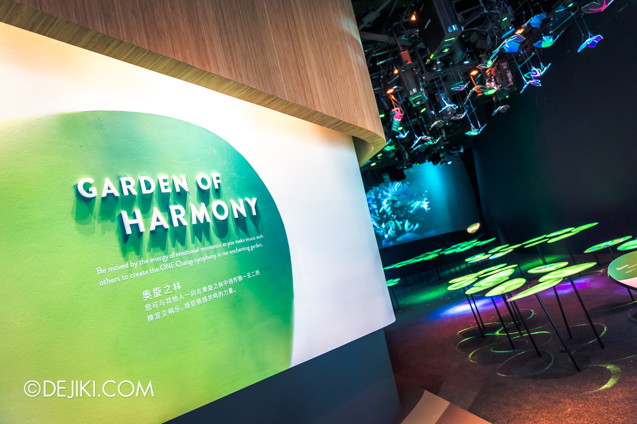 Jewel Changi Airport - Changi Experience Studio 8 - Garden of Harmony entrance