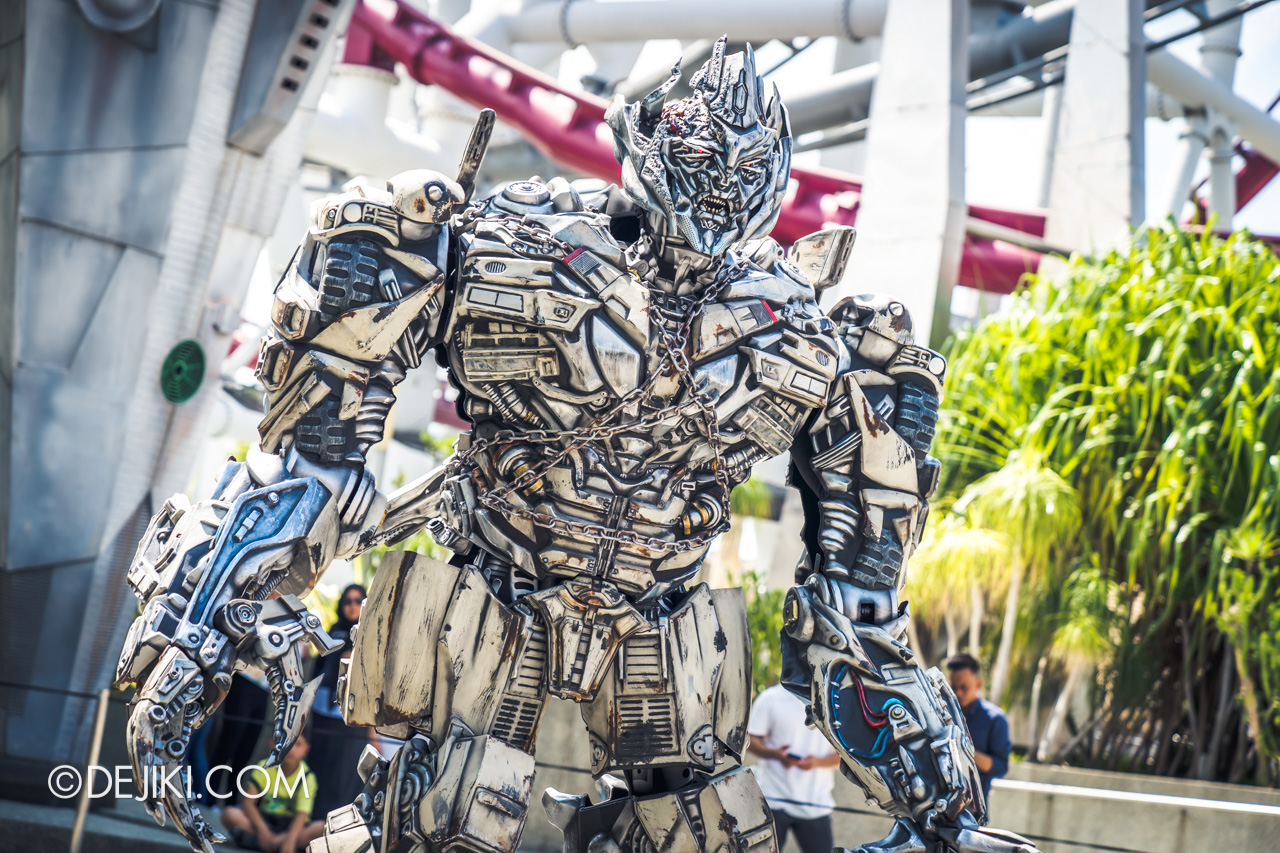 USS 2019 Universal Summer event Talking Megatron solo hero