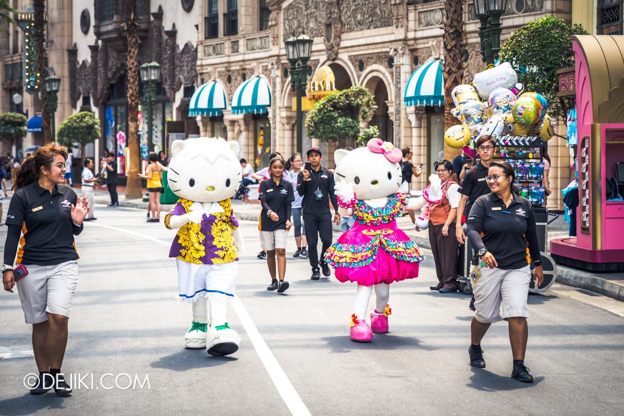 USS Universal Summer event Hello Kitty and Dear Daniel
