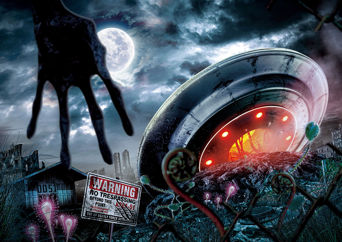 Universal Studios Japan Halloween Horror Nights 2019 event guide - AREA 51 horror maze
