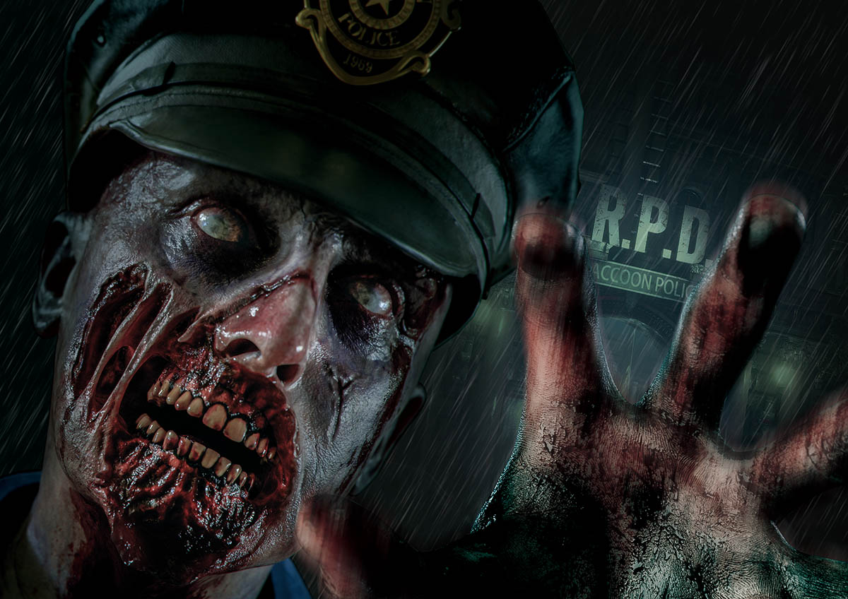 Universal Studios Japan Halloween Horror Nights 2019 event guide - Biohazard The Extreme Resident Evil horror maze