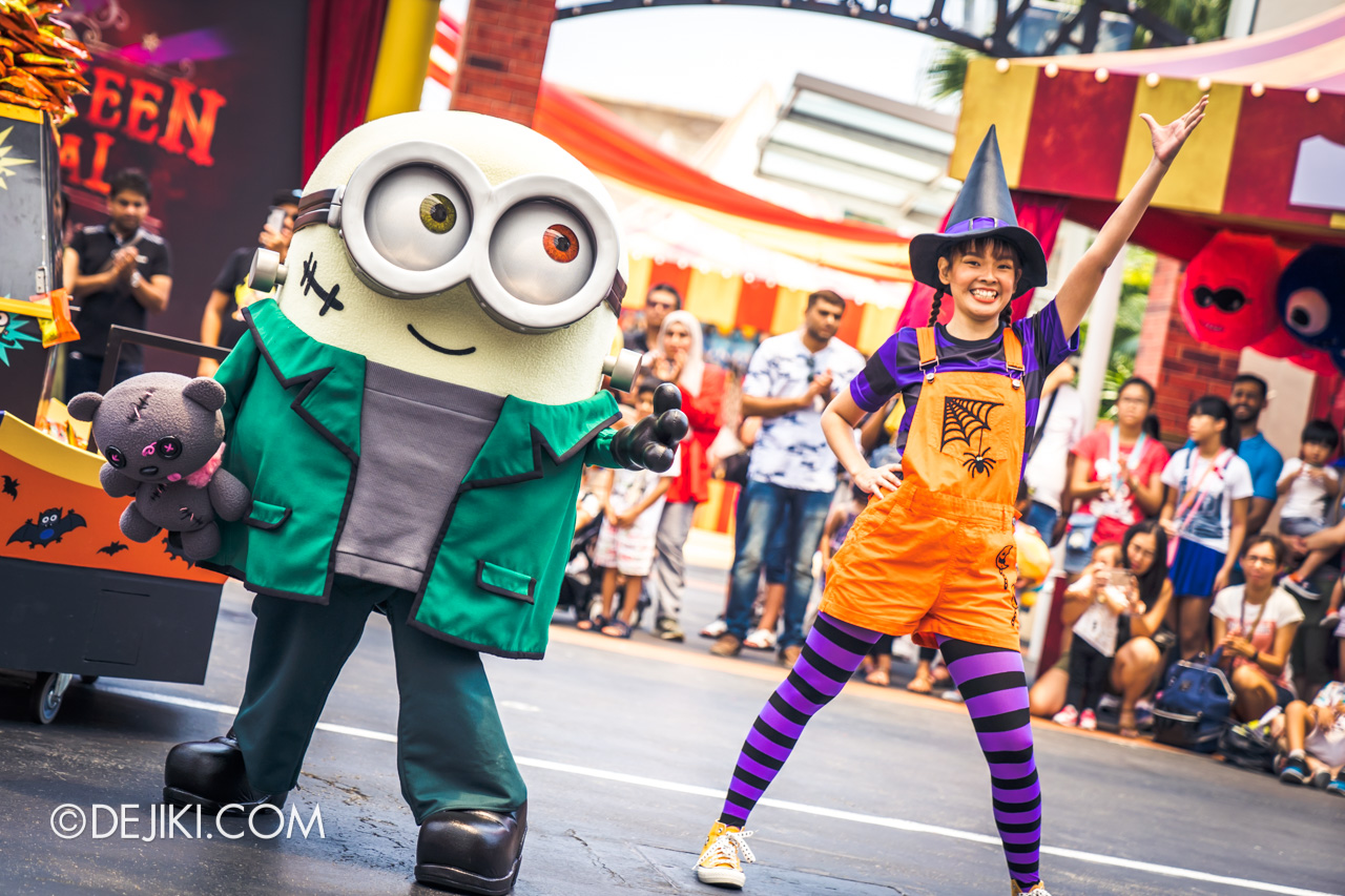 USS Daytime Halloween Family friendly event Minion Monsters Tricky Treats 2