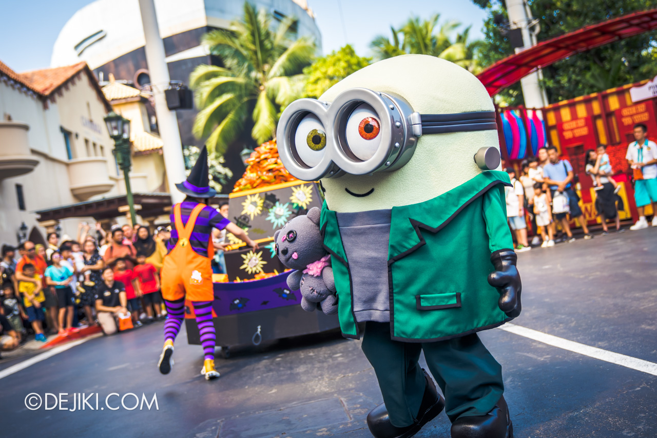 USS Daytime Halloween Family friendly event Minion Monsters Tricky Treats 4 Franken Bob Minion