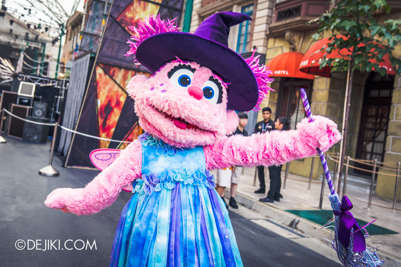 USS Daytime Halloween Family friendly event Sesame Street Halloween Meet and Greet