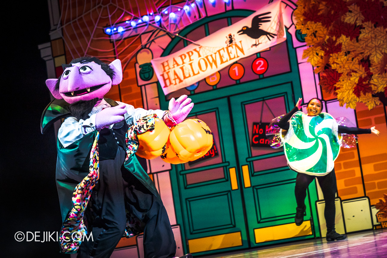 USS Daytime Halloween Family friendly event Trick or Treat with Sesame Street Count
