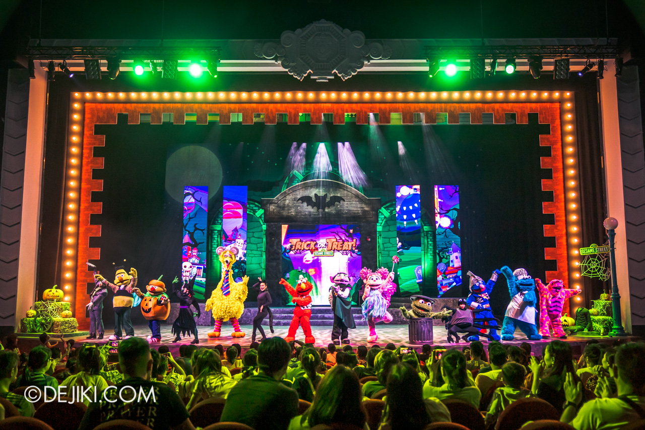 USS Daytime Halloween Family friendly event Trick or Treat with Sesame Street stage final