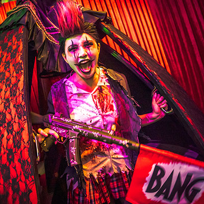 USS Halloween Horror Nights 9 Mega Review Twisted Clown University sq