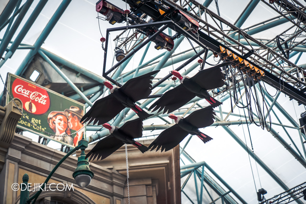 USS Halloween Horror Nights 9 construction update Death Fest Opening Scaremony vultures 2