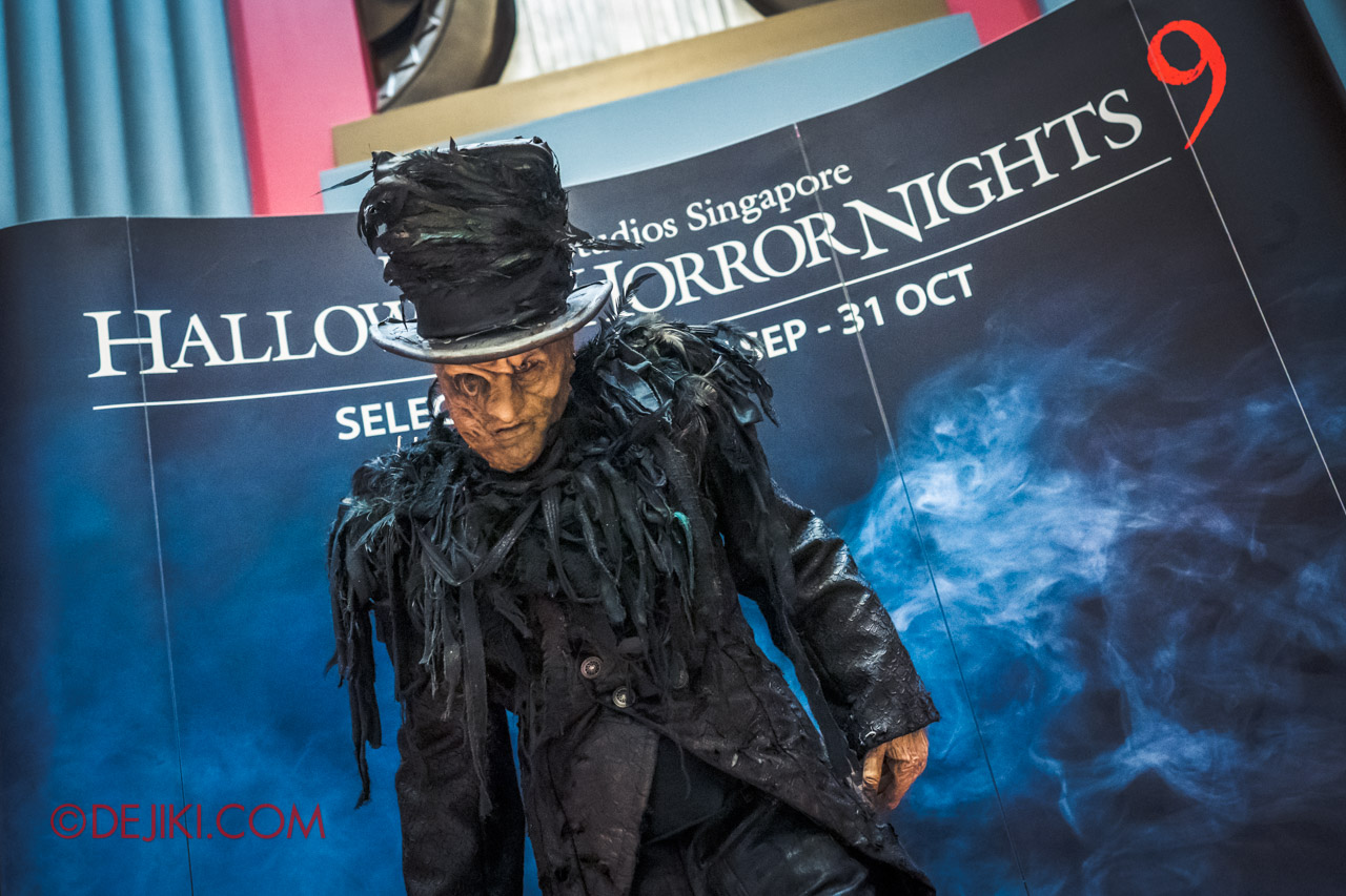 USS Halloween Horror Nights 9 RIP Experience Exclusive Meet and Greet with Top Hat Undertaker