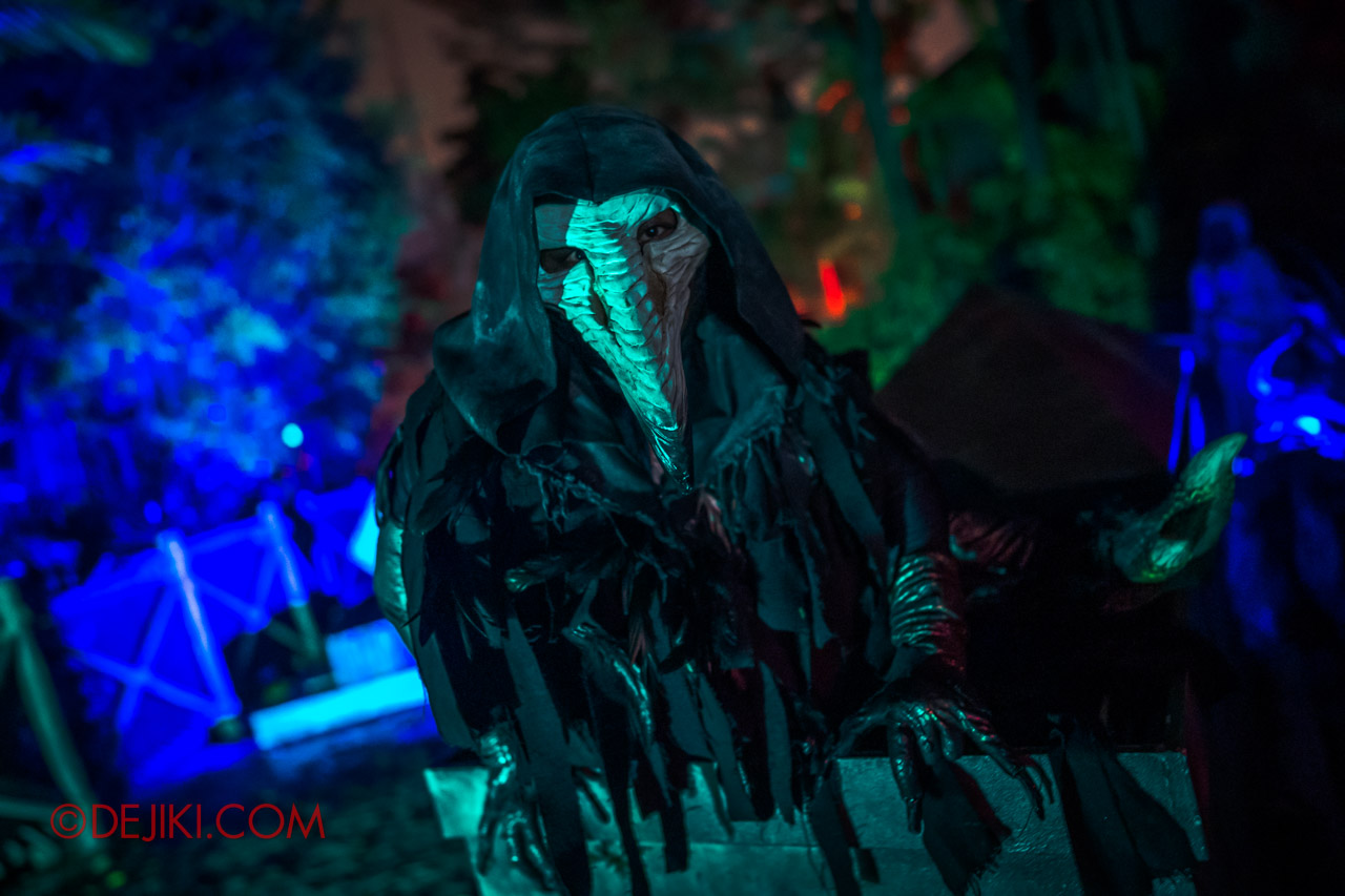 USS Halloween Horror Nights 9 photo tour Dead End scare zone 5 perched